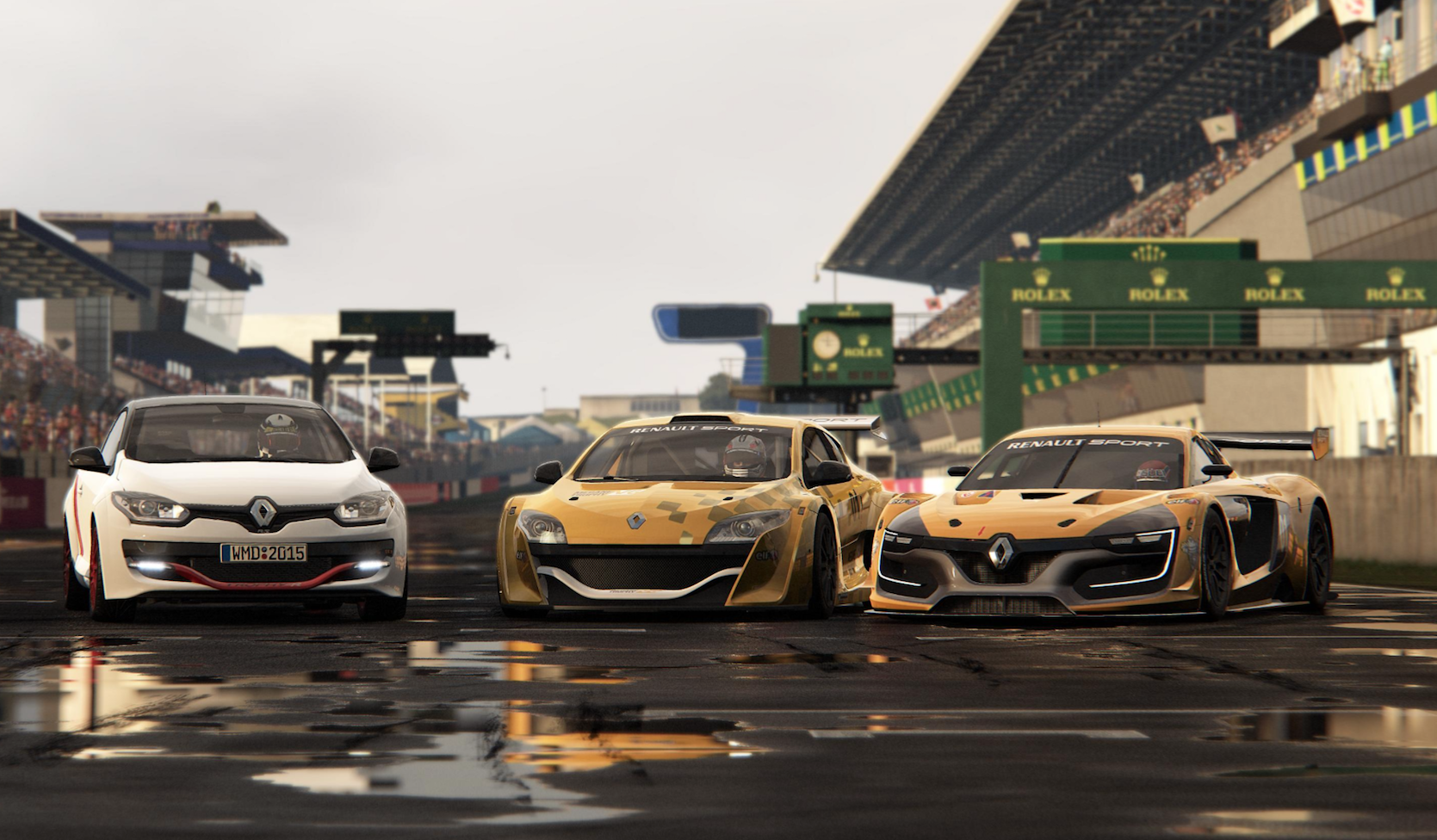 PROJECT CARS LAUNCHES ITS RENAULT SPORT CAR PACK