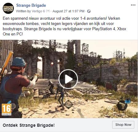 Strange Brigade ad