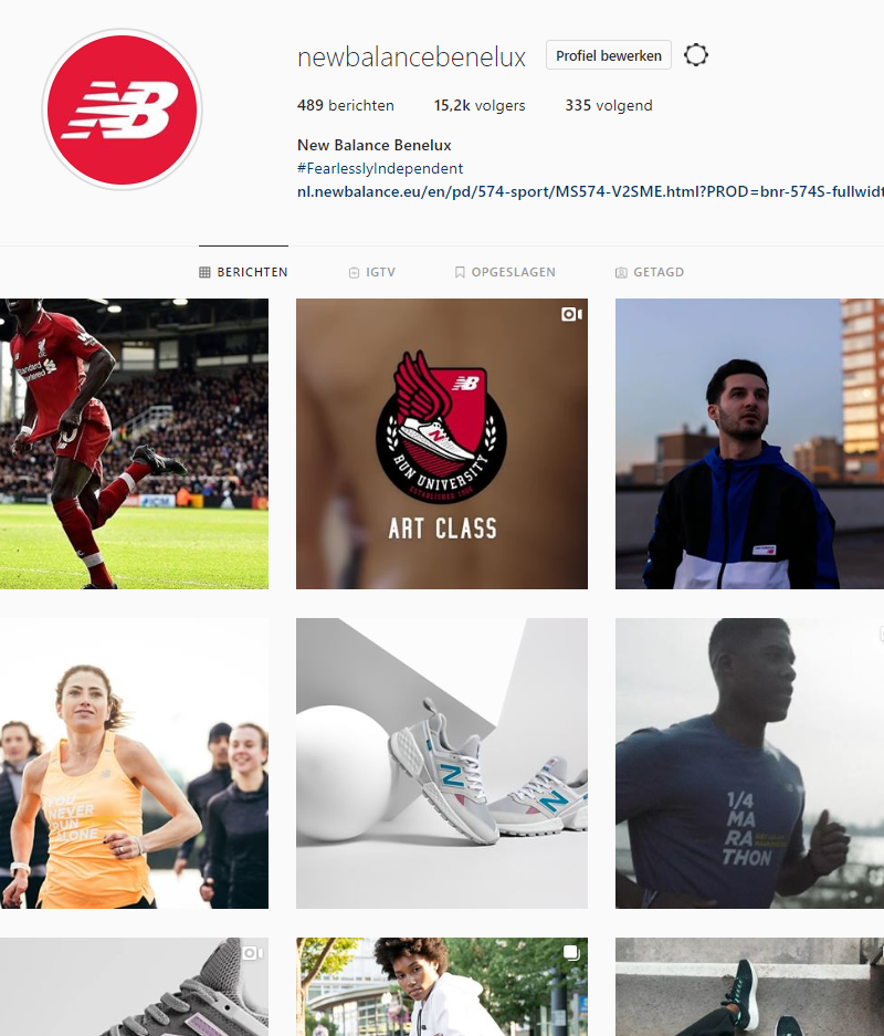 New Balance – Social Media Management