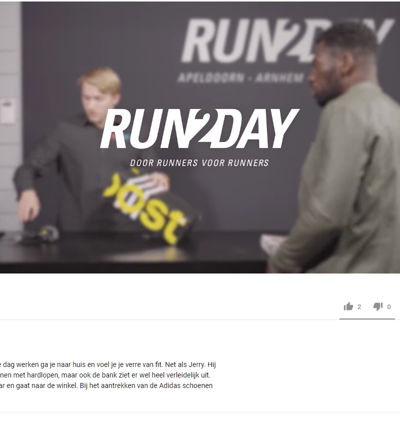 Run2Day – online advertising campaign