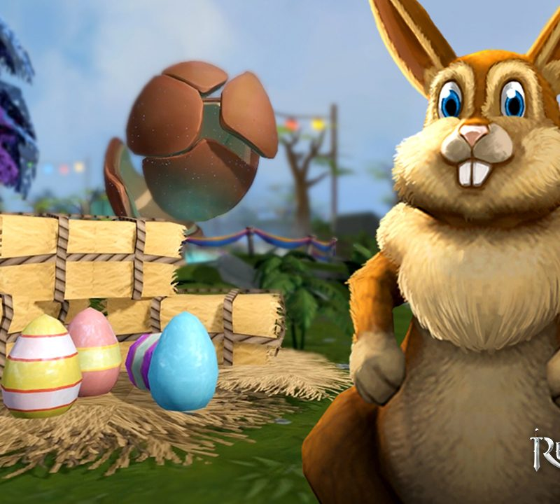 The Easter Bunny hops into RuneScape, as the hunt for crystallised chocolate egg begins