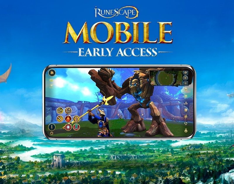 RuneScape's 18 years of adventure comes to mobile as the iconic MMO launches RuneScape Mobile Early Access today